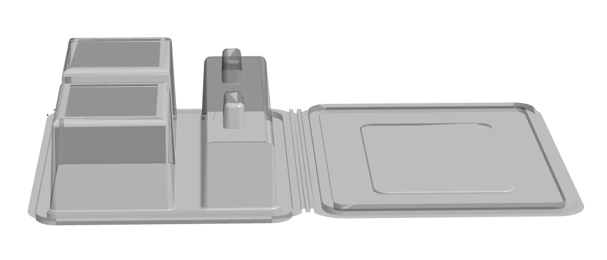 3 Cavity Multi Use Hinge Pack