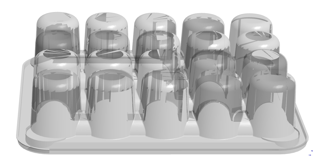 20 cavity Meatball Tray