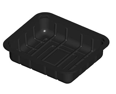 Open Meat Tray Shallow 40mm